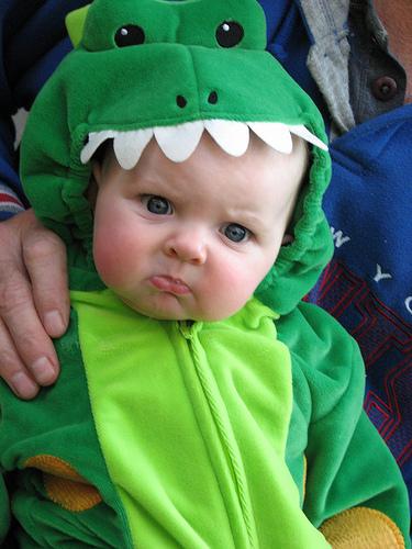 Disgruntled Dinosaur