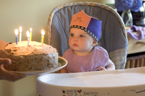 Happy 1st Birthday, Mary